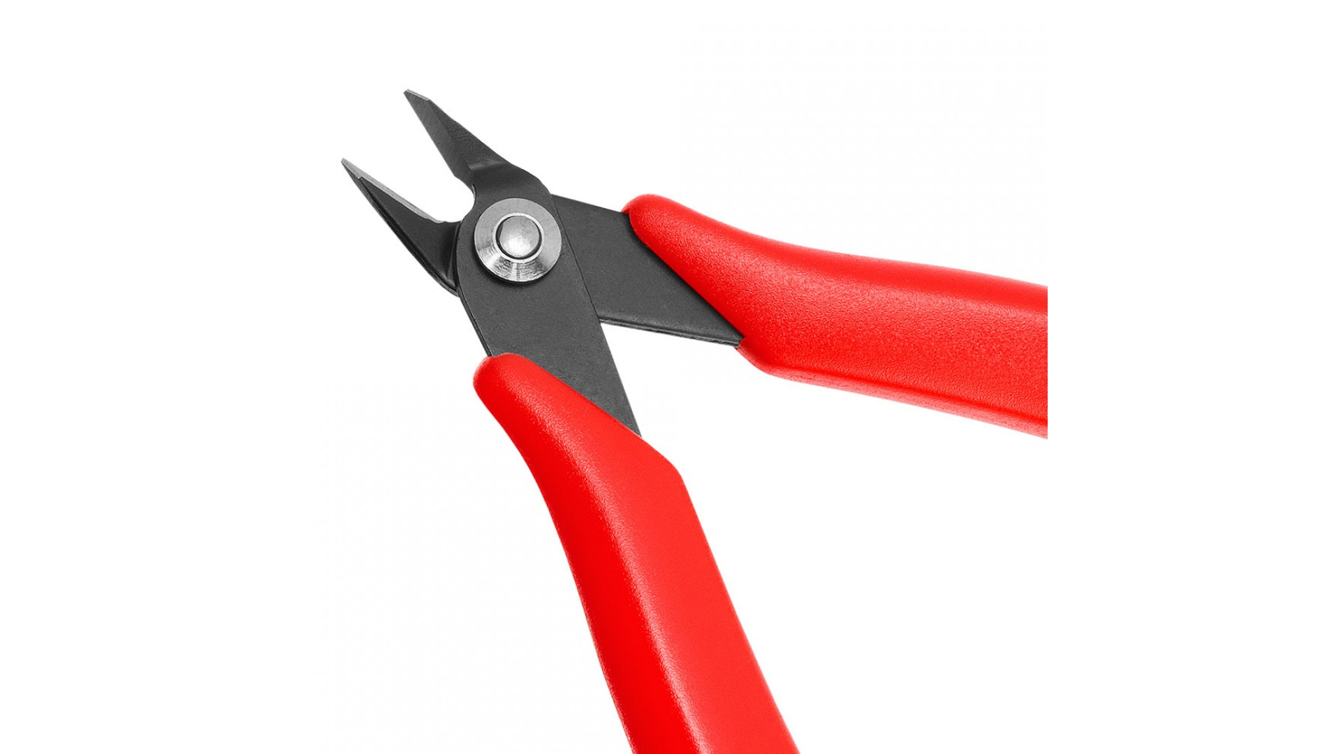 platinum tools 10531c 5 inch side cutting pliers with red comfort