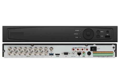 Alloy 160 DVR/NVR Hybrid (AHD/Analog/TVL/TVI/IP), 16 BNC + 16 IP