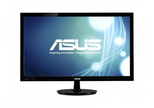 "21.5"" Full HD 1920x1080 HDMI DVI VGA Back-lit LED Monitor"