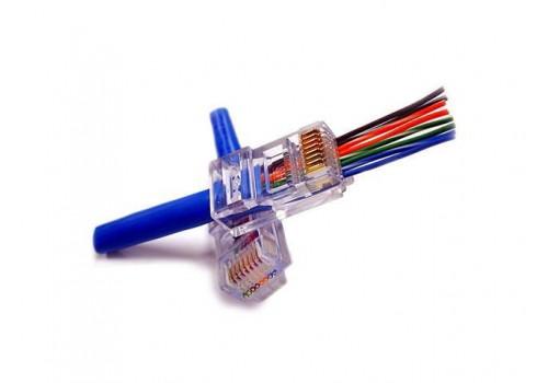 EZ-RJ45® CAT5/5e Connectors
