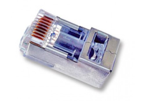Shielded EZ-RJ45® for CAT5e & CAT6 with Internal Ground