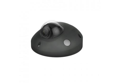 Pebble HD+ Wide Angle audio mini dome in Black
