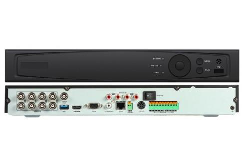 Hybrid DVR Front and Back