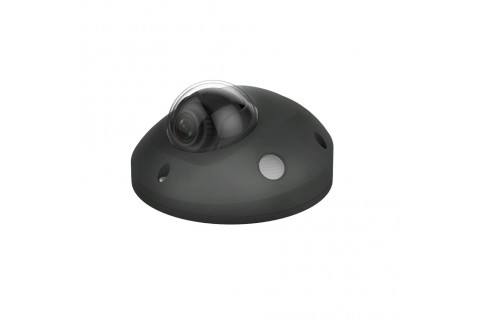 Pebble HD+ Wide Angle audio mini dome in Black
