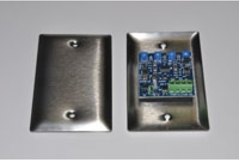 Flush Mount, Ultra low noise, High sensitivity, Universal power input, Omni-directional Microphone