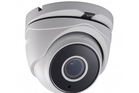 TVI 1080p Varifocal Turret Camera - Motorized Zoom