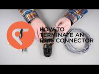 Table Top How To: Crimping an RJ45 Connector Onto a Cat5 Cable