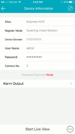 App Setup DDNS with Guarding Vision - App Setup - Learning