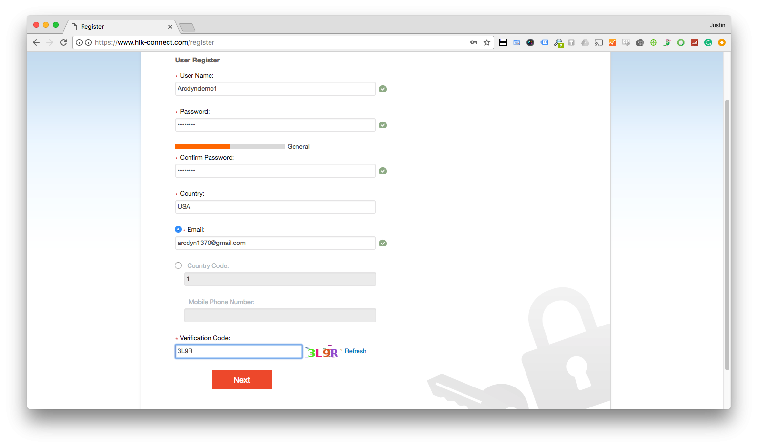 How To Create A Hik-Connect Account on Hik-Connect com - App